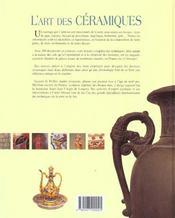 L'Art De La Ceramique - 4ème de couverture - Format classique