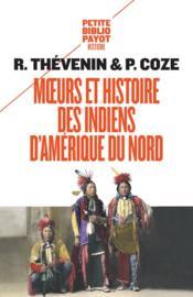 Moeurs et histoire des indiens d'Amérique du nord - Couverture - Format classique