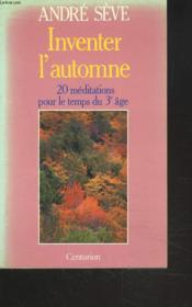 Inventer L Automne - Couverture - Format classique