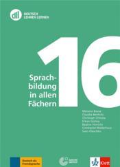 Sprachbildung in allen Fächern - Couverture - Format classique