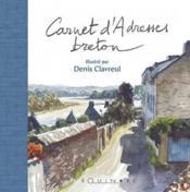 Carnet adresses breton (dos bleu) - Couverture - Format classique