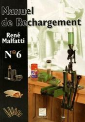 Manuel de rechargement t.6 - Couverture - Format classique