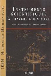Instruments Scientifiques A Travers L'Histoire - Intérieur - Format classique