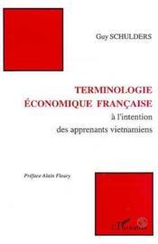 Terminologie économique française à l'intention des apprenants vietnamiens - Couverture - Format classique