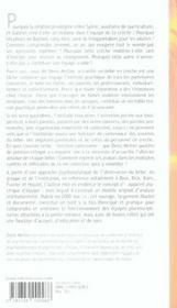 Inconscient a la creche (l') - 4ème de couverture - Format classique