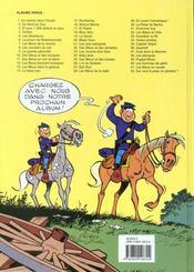 Les tuniques bleues t.13 ; les bleus dans la gadoue - 4ème de couverture - Format classique