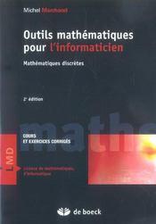 Outils mathématiques pour l'informaticien ; maths discrètes (2e édition) - Intérieur - Format classique