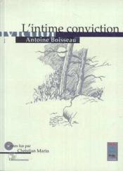Intime Conviction (L') - Couverture - Format classique