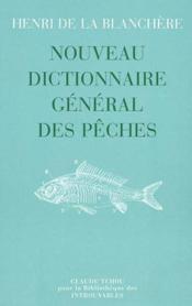 Nouveau dictionnaire general des peches - Couverture - Format classique