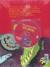Petit Vampire T.7 ; Petit Vampire et le rêve de Tokyo - 4ème de couverture - Format classique