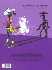 Lucky Luke ; intégrale t.18 - 4ème de couverture - Format classique
