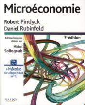 Microéconomie (7e édition) - Couverture - Format classique