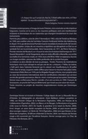 L Imprevu Dans L Histoire - 4ème de couverture - Format classique