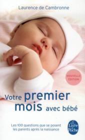 Votre premier mois avec bébé - Couverture - Format classique