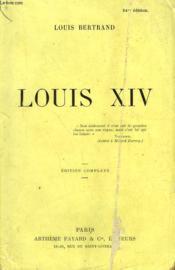 Louis Xiv. - Couverture - Format classique