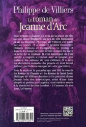 Le roman de Jeanne d'Arc - 4ème de couverture - Format classique