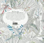 Forêt tropicales ; carnet de coloriages - 4ème de couverture - Format classique