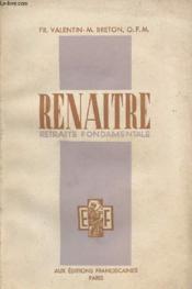 Renaitre - Retraite Fondamentale - Couverture - Format classique