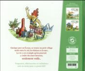 Le village ; le défi - 4ème de couverture - Format classique