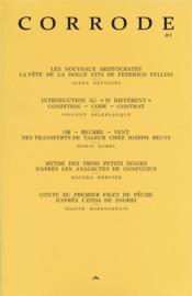 Corrode N.1 ; corrode #1 - Couverture - Format classique