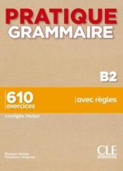 FLE ; grammaire ; niveau B2 (édition 2020) - Couverture - Format classique
