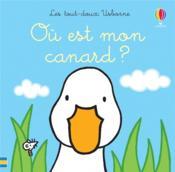 Où est mon canard ? - Couverture - Format classique
