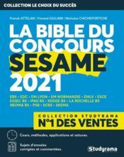 La bible du concours sesame (édition 2021) - Couverture - Format classique