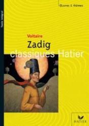 Zadig - Couverture - Format classique