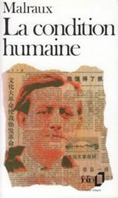 La condition humaine - Couverture - Format classique