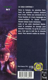 Trilogie De La Croisade T.3 Ultime Commandement - 4ème de couverture - Format classique