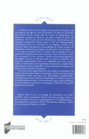 La consistance du social une sociologie pour la modernite - 4ème de couverture - Format classique