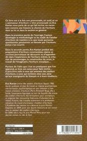 Écrire et faire écrire ; manuel pratique d'écriture - 4ème de couverture - Format classique