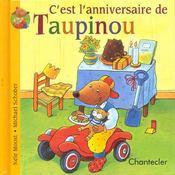 C'Est L'Anniversaire De Taupinou - Intérieur - Format classique