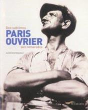 Paris Ouvrier - Couverture - Format classique