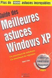 Guide Des Meilleures Astuces Windows Xp - Intérieur - Format classique