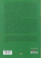 Precis De Syntaxe Creole - 4ème de couverture - Format classique