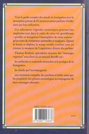 Encens Et Autres Parfums A Bruler - 4ème de couverture - Format classique
