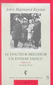 Le Docteur Melchior - Couverture - Format classique