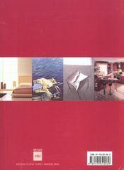 Meubles d interieur - 4ème de couverture - Format classique