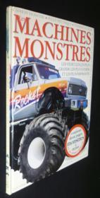 Les Machines Monstres Les Vehicules Les Plus Impressionants - Couverture - Format classique