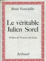 Le Veritable Julien Sorel - Couverture - Format classique