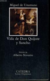 Vida de Don Quijote y Sancho - Couverture - Format classique