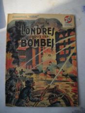 Londres Sous Les Bombes - Couverture - Format classique