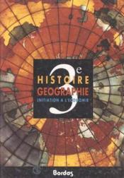 Histoire Geographie 3e - Couverture - Format classique