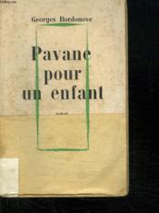 Pavane Pour Un Enfant. - Couverture - Format classique