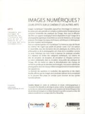 Images Numeriques - 4ème de couverture - Format classique