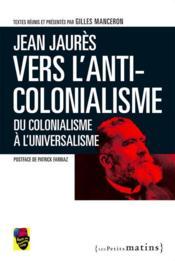 Du colonialisme à l'universalisme - Couverture - Format classique