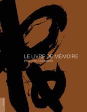 Le livre de mémoire - Couverture - Format classique