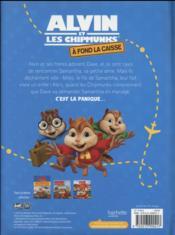 Alvin et les Chipmunks - à fond la caisse ; l'album du film - 4ème de couverture - Format classique