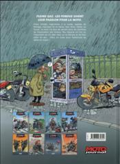 Les fondus de moto T.8 - 4ème de couverture - Format classique